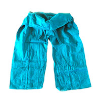 Fishermanspants Fishermanspants turquoise blauw