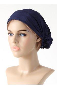 Haarband donkerblauw