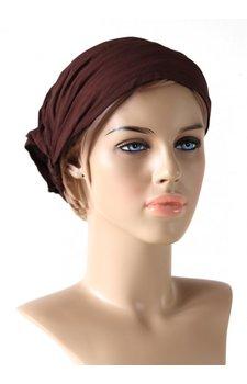 Haarband donkerbruin