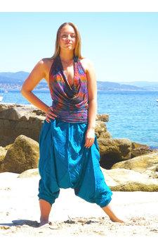 Harembroek oceaanblauw