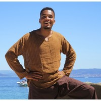 Indian shirt (mokka)