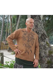 Shirt Dreamcatcher Mokka
