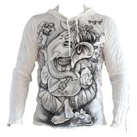 Fishermanspants SURE heren hoodie Ganesha