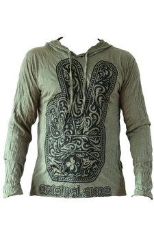 SURE heren hoodie Peace