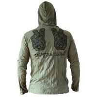 Fishermanspants SURE heren hoodie Peace