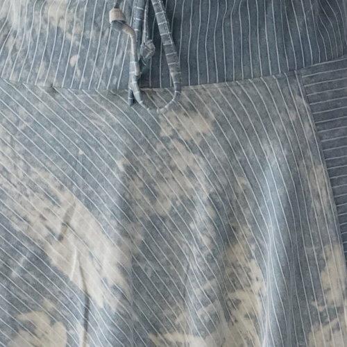 Fishermanspants Harembroek Yapa lichtblauw