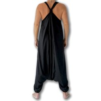 Fishermanspants Jumpsuit zwart