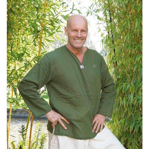 Fishermanspants Sunshine shirt lange mouw legergroen