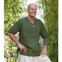 Fishermanspants Sunshine shirt korte mouw legergroen