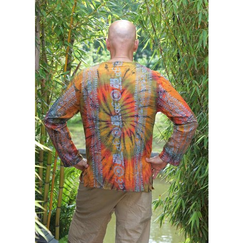 Fishermanspants Shirt Tie-dye Ohm