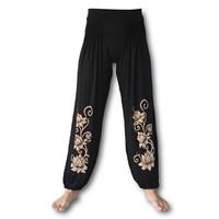 Lotus yoga pofbroek zwart