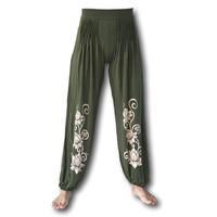Lotus yoga pofbroek groen
