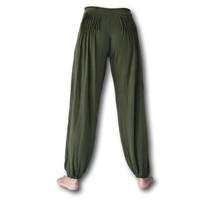 Fishermanspants Lotus yoga pofbroek groen
