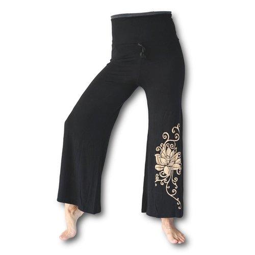 Fishermanspants Lotus dames yogabroek