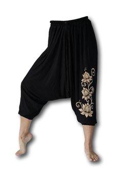 Lotus yoga harembroek zwart