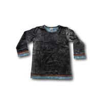 Stonewash shirt (XS) zwart