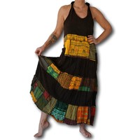 Alternatieve patchwork jurk