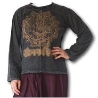 Fishermanspants Stonewash shirt Ganesha