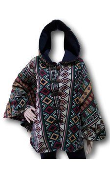 Native inca poncho