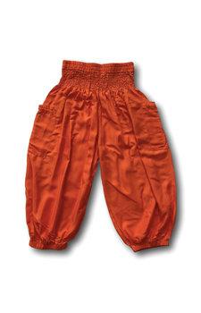 Kinder pofbroekje oranje (5-6 jaar)