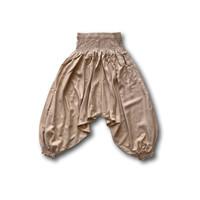Fishermanspants Kinder harembroek zand (76-7jaar)