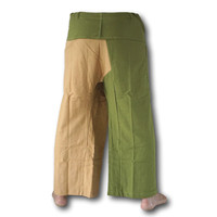 Fishermanspants Fishermanspants duo color groen