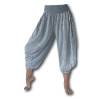 Fishermanspants Zouave broek lichtblauw