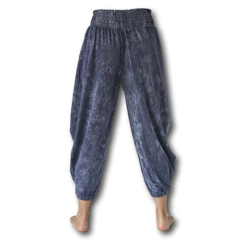 Fishermanspants Zouave broek donkerblauw
