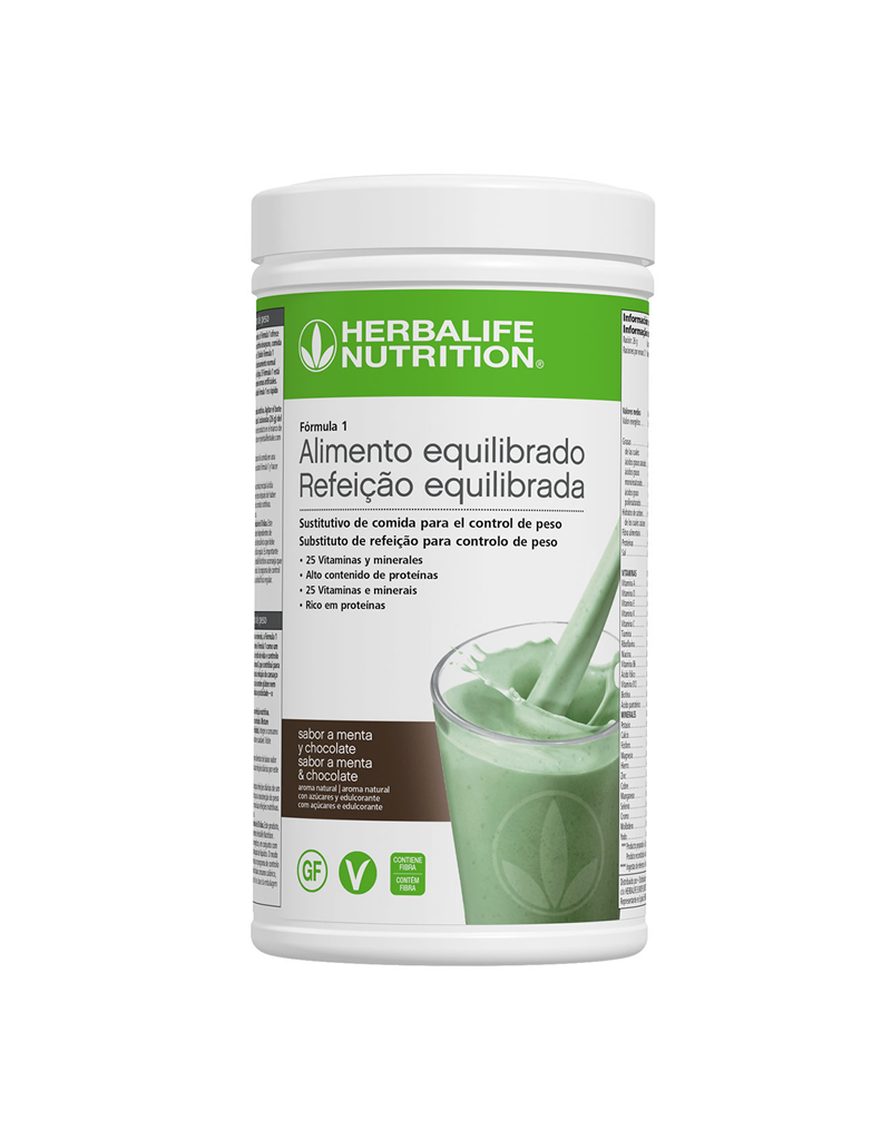 Programa Desayuno Saludable Herbalife Menta y Chocolate