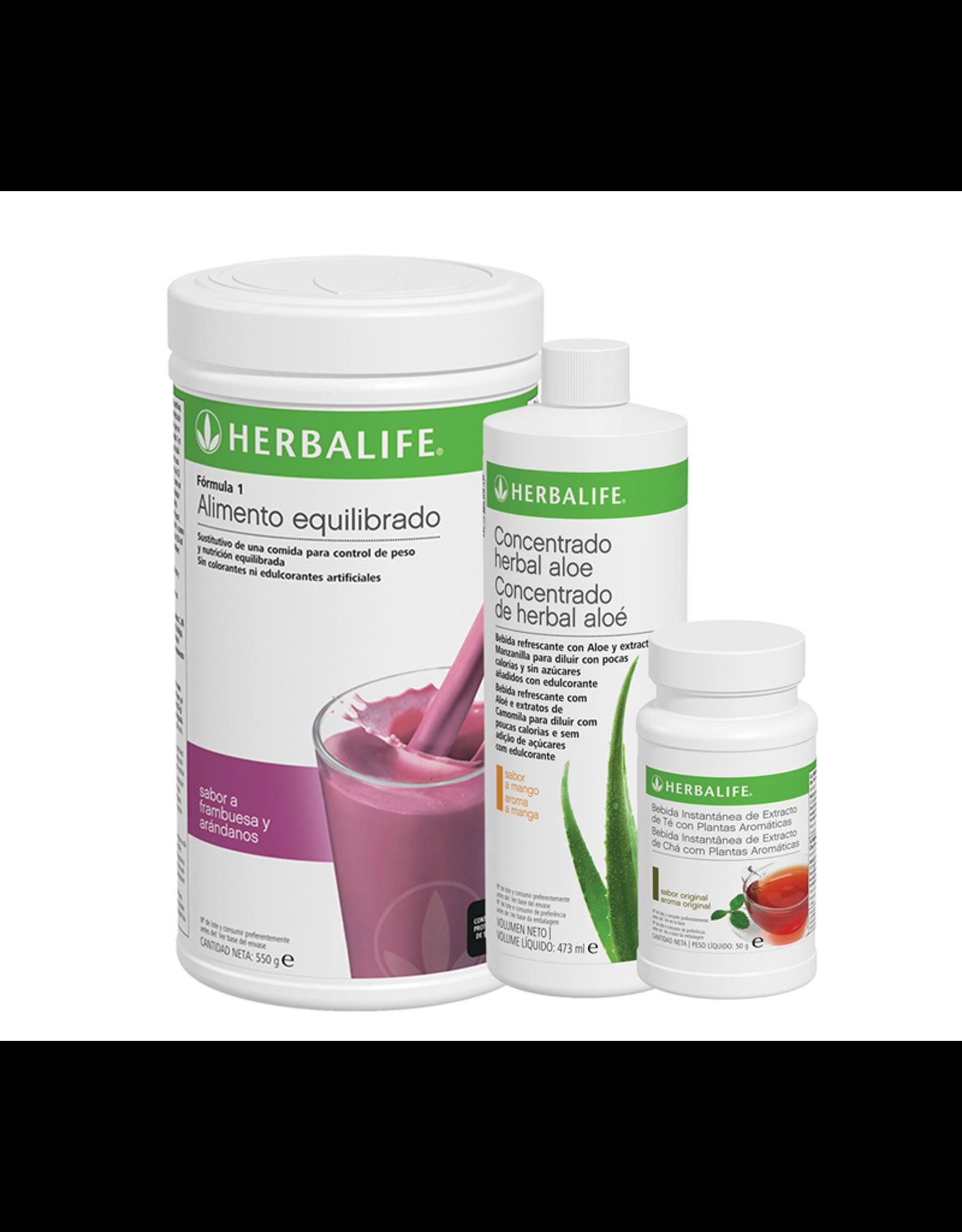 Programa Desayuno Saludable Herbalife frutos del bosque