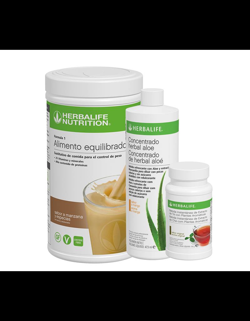 Programa Desayuno Saludable Herbalife Manzana y Especias