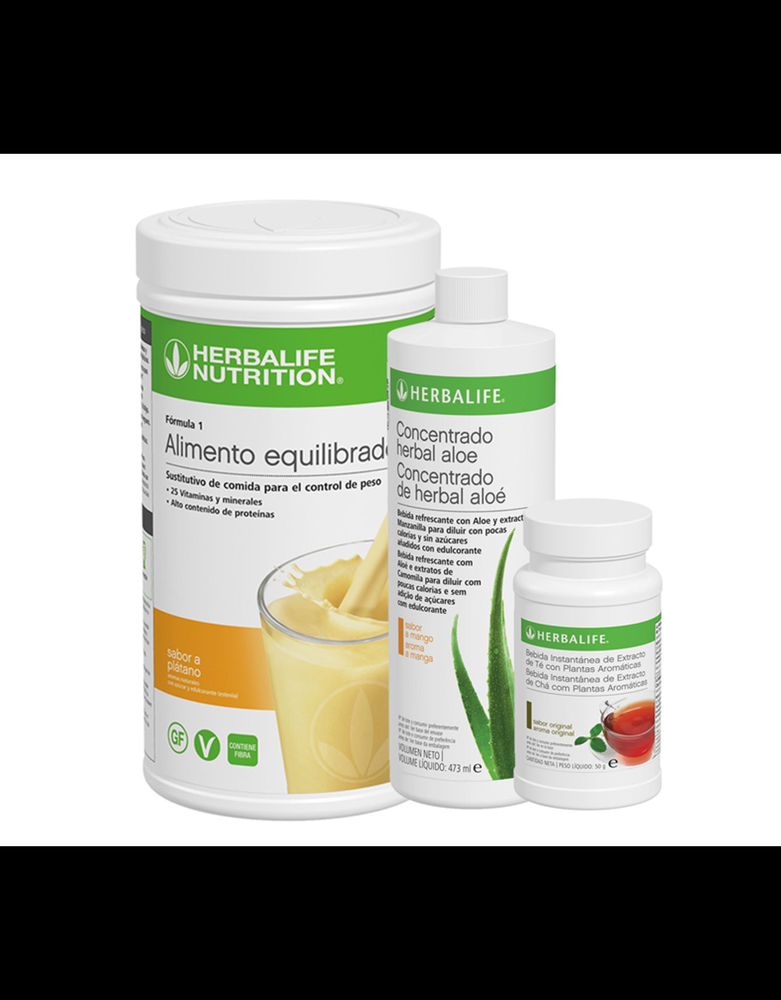 Programa Desayuno Saludable Herbalife Plátano