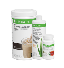 Programa Desayuno Saludable Herbalife Galleta Crujiente (Cookies and Cream)