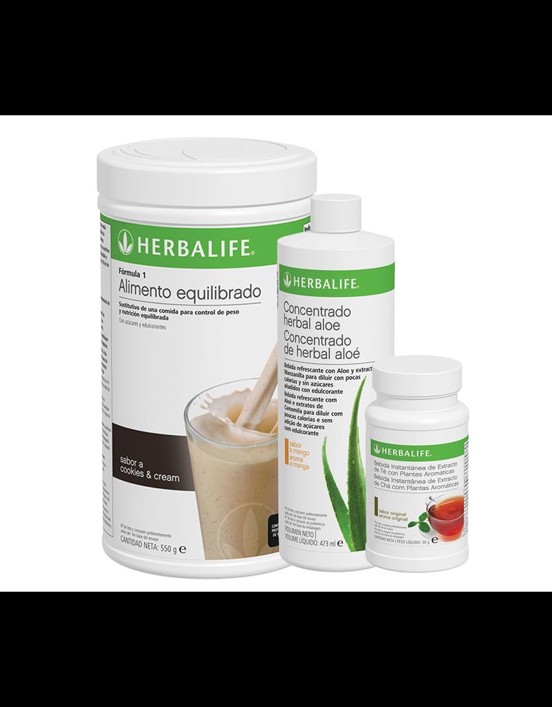 Programa Desayuno Saludable Herbalife Galleta Crujiente (Cookies and Cream)