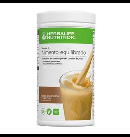 Batido Herbalife Fórmula 1 - sabor a Manzana y Especias