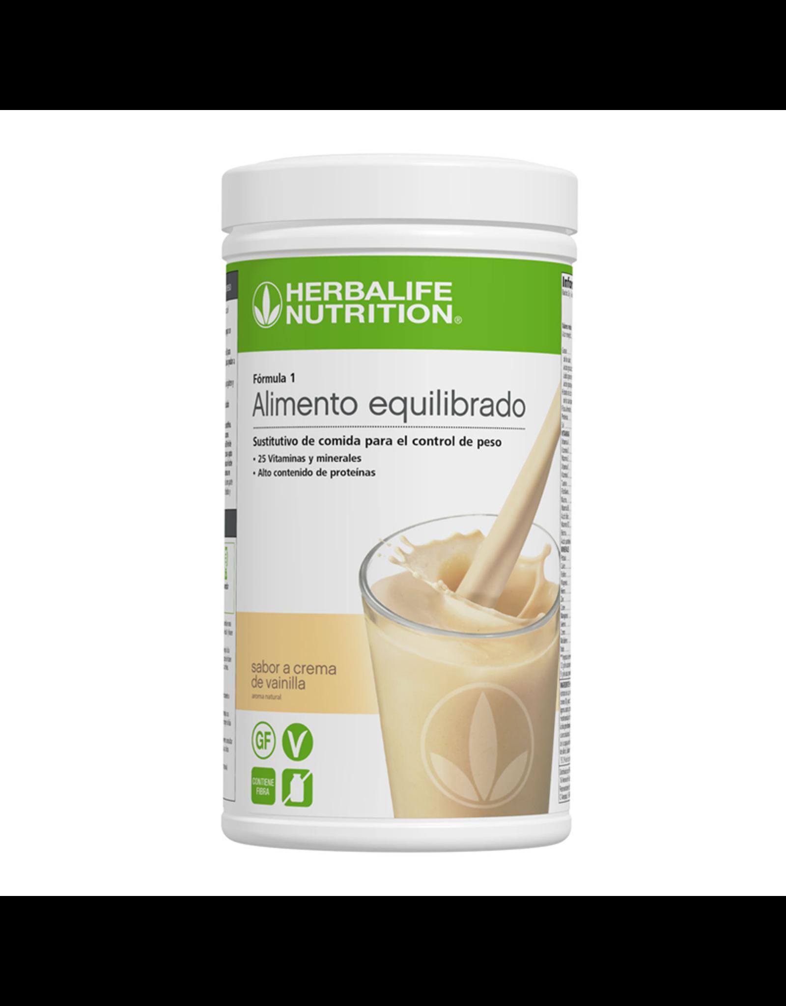 Batido Herbalife Fórmula 1 - sabor a Crema de vainilla