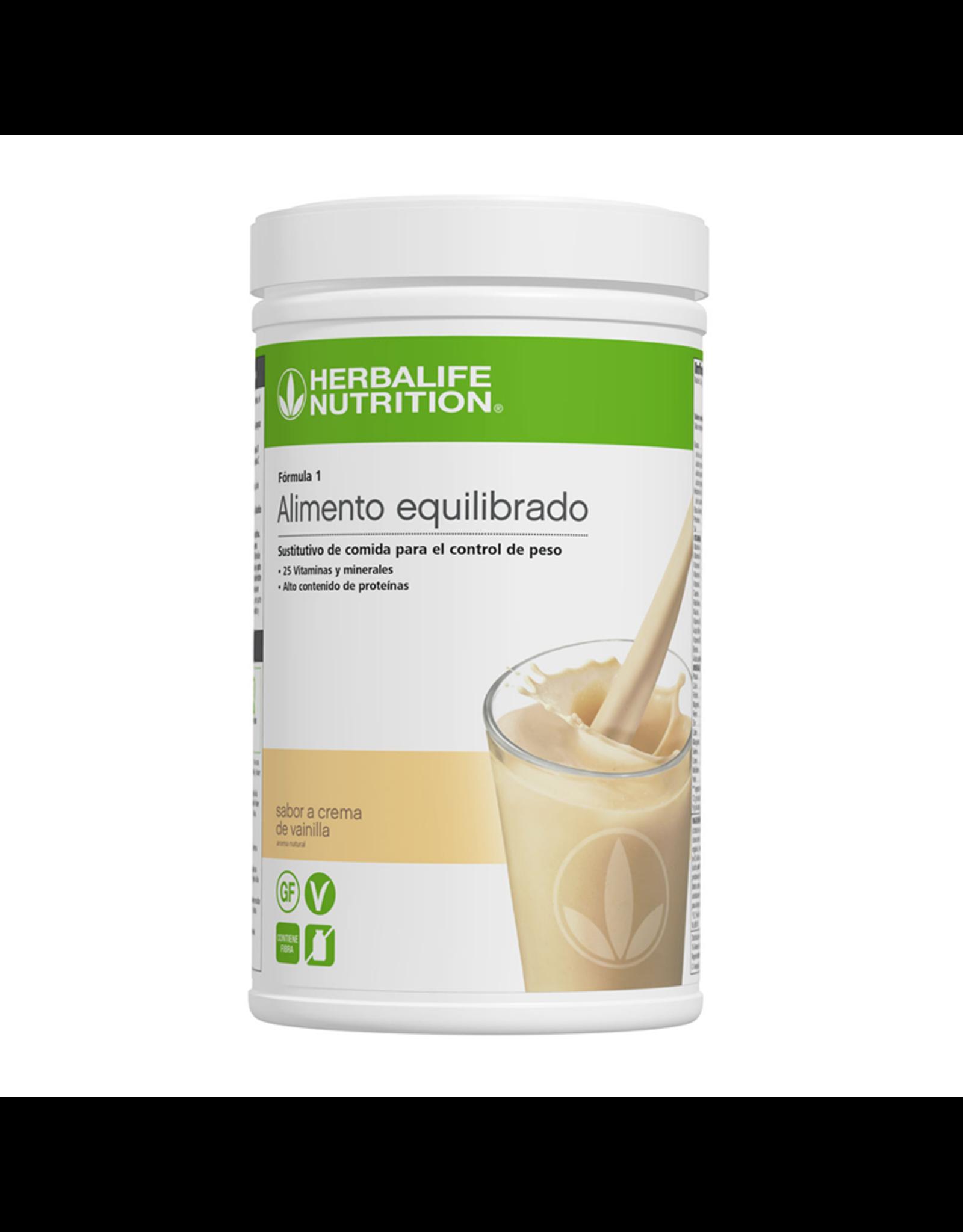 Batido Herbalife Fórmula 1 780g - sabor a Crema de vainilla