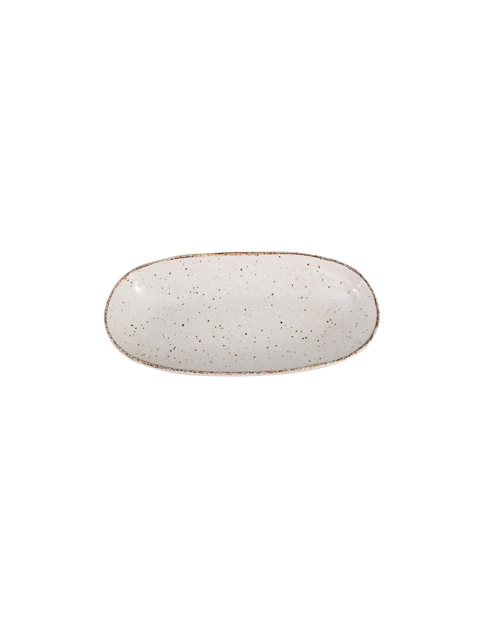 Kitchen Trend Schaal Stone ovaal klein creme