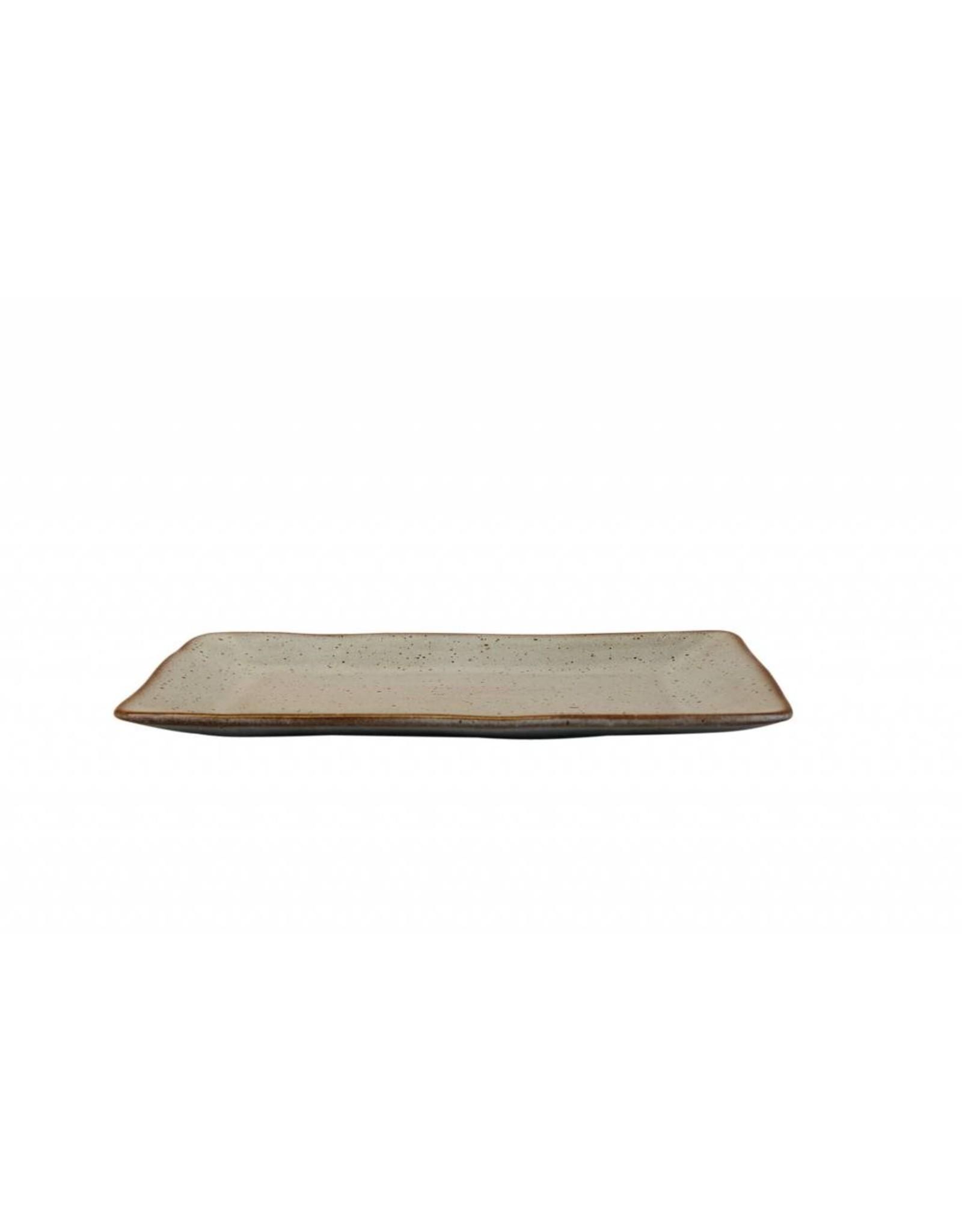 Kitchen Trend Rechthoekige schaal medium Stone zeegroen