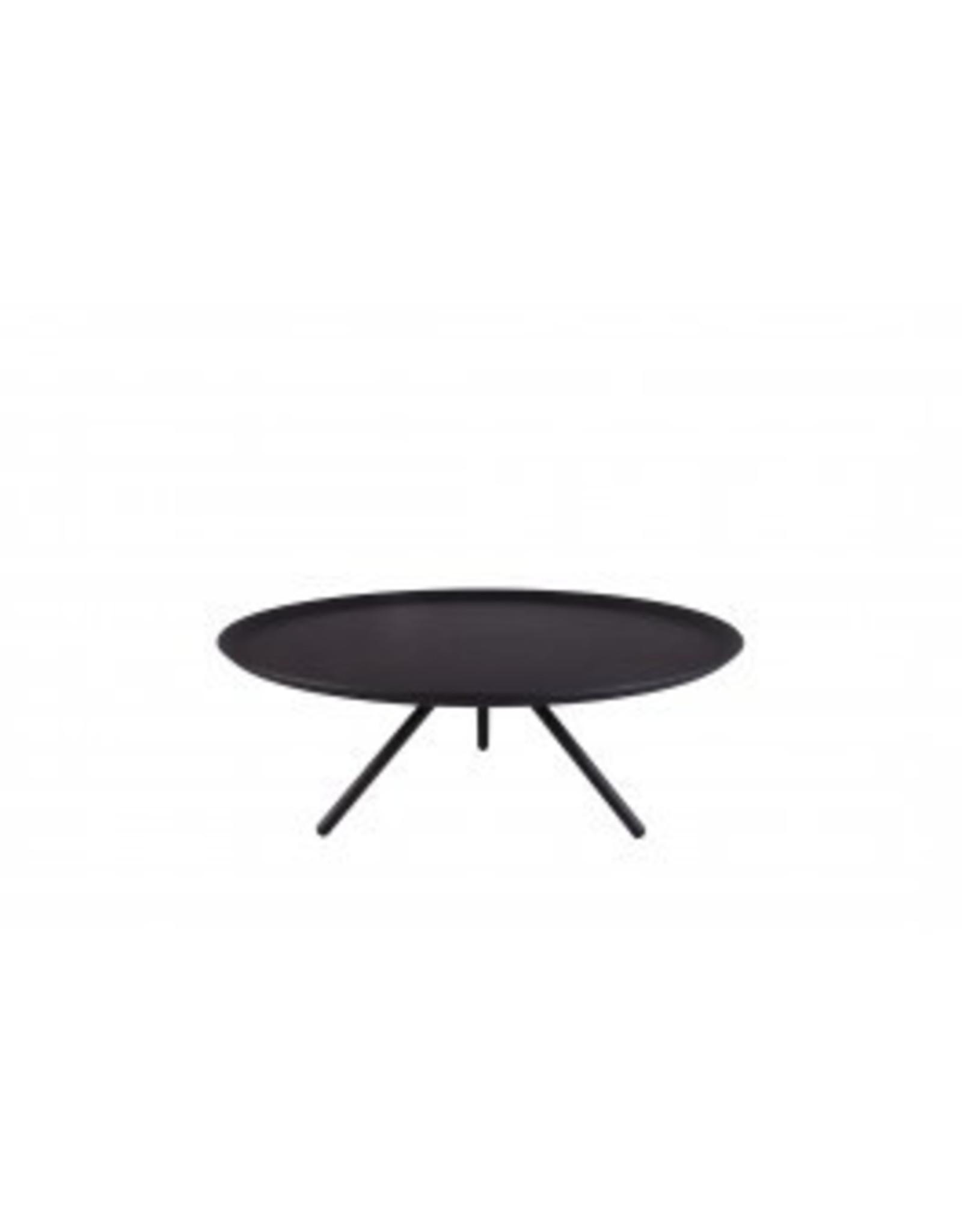 Kitchen Trend Plateau 3-poot medium mat zwart