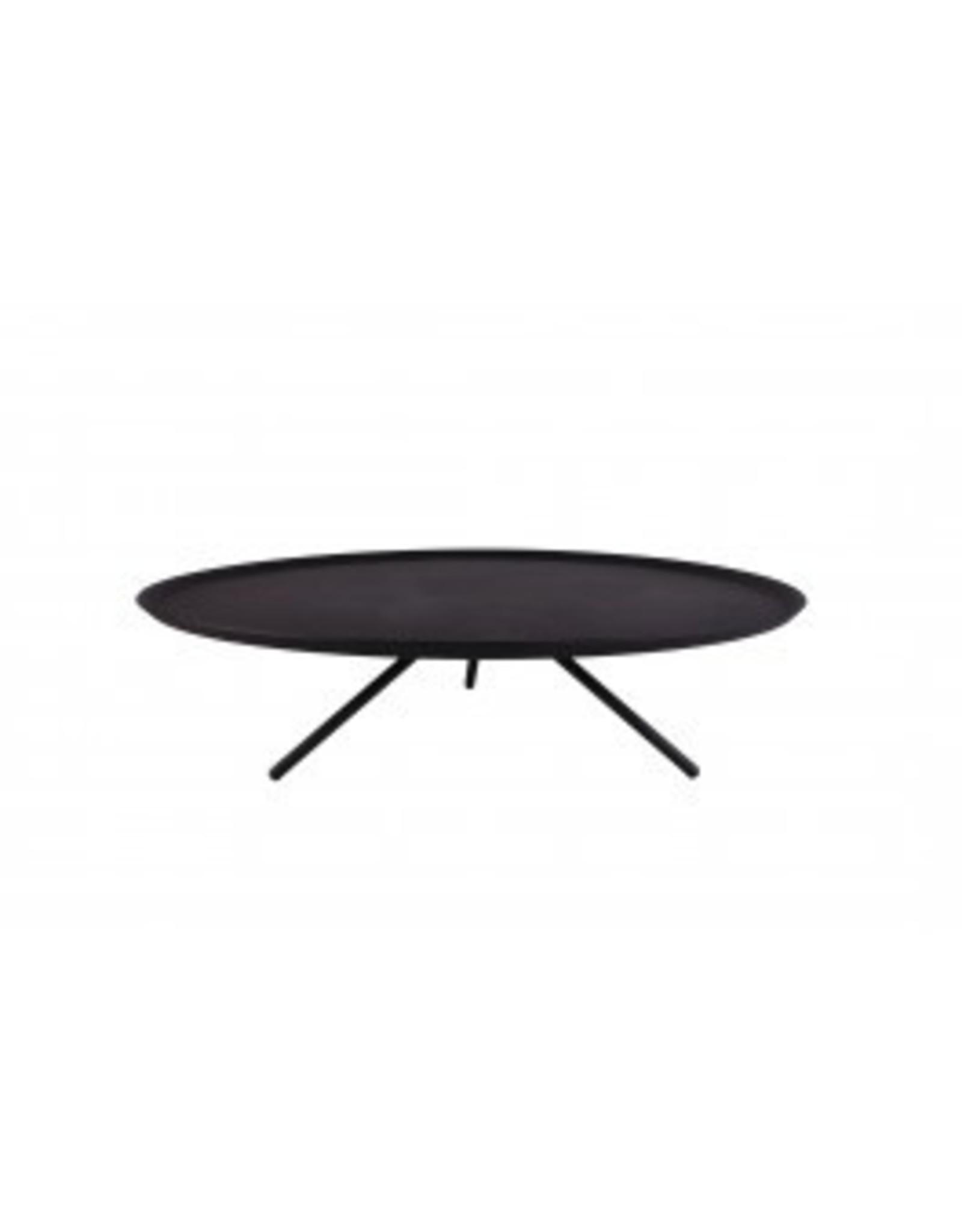 Kitchen Trend Plateau 3-poot groot mat zwart