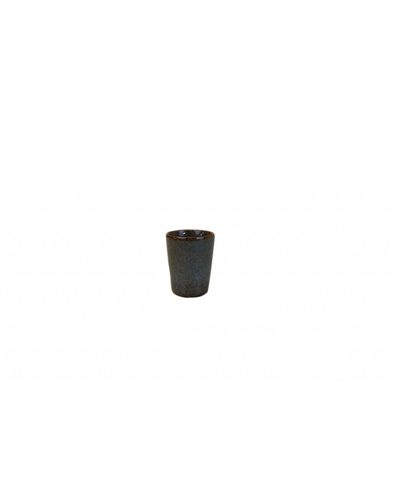 Kitchen Trend Espresso mok Stone petrol (Set van 6)