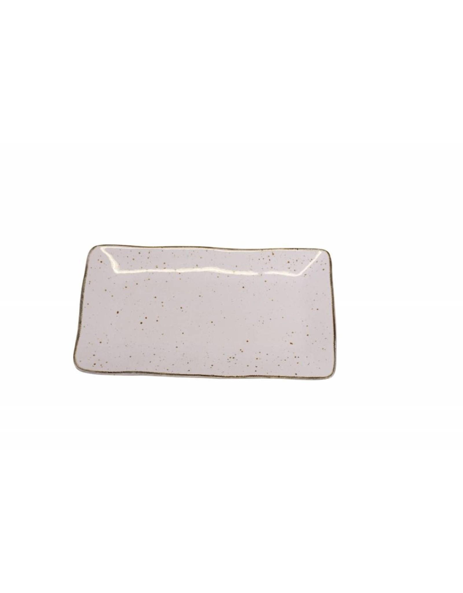 Kitchen Trend Schaal Stone rechthoek medium lichtroze