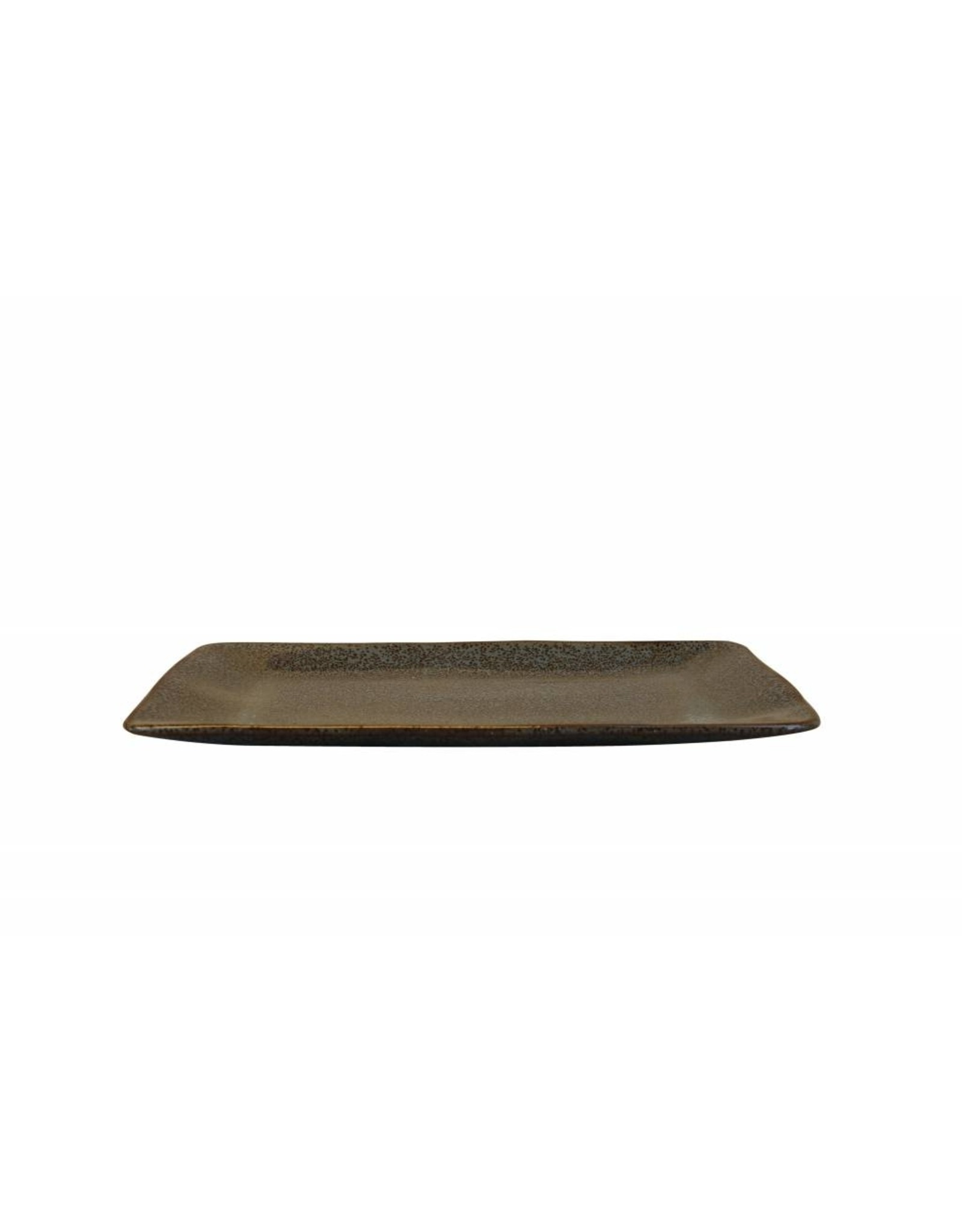 Kitchen Trend Schaal Stone rechthoek medium petrol