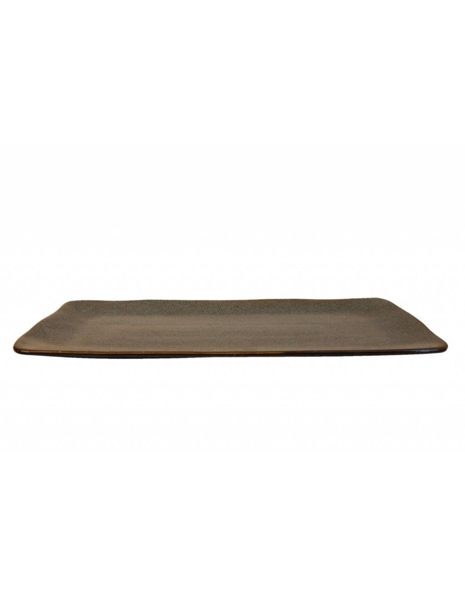Kitchen Trend Schaal Stone rechthoek groot petrol