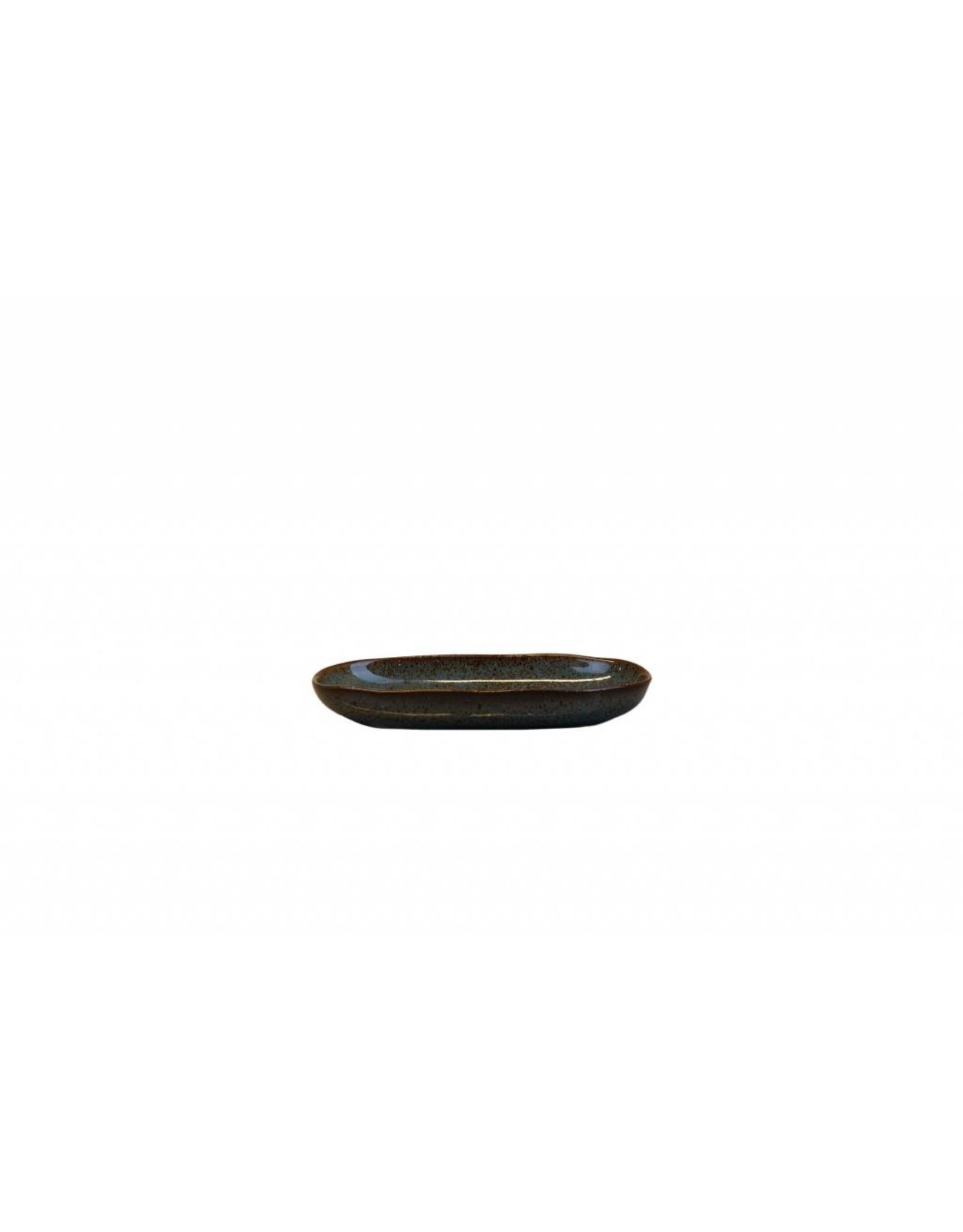 Kitchen Trend Schaal Stone ovaal mini petrol
