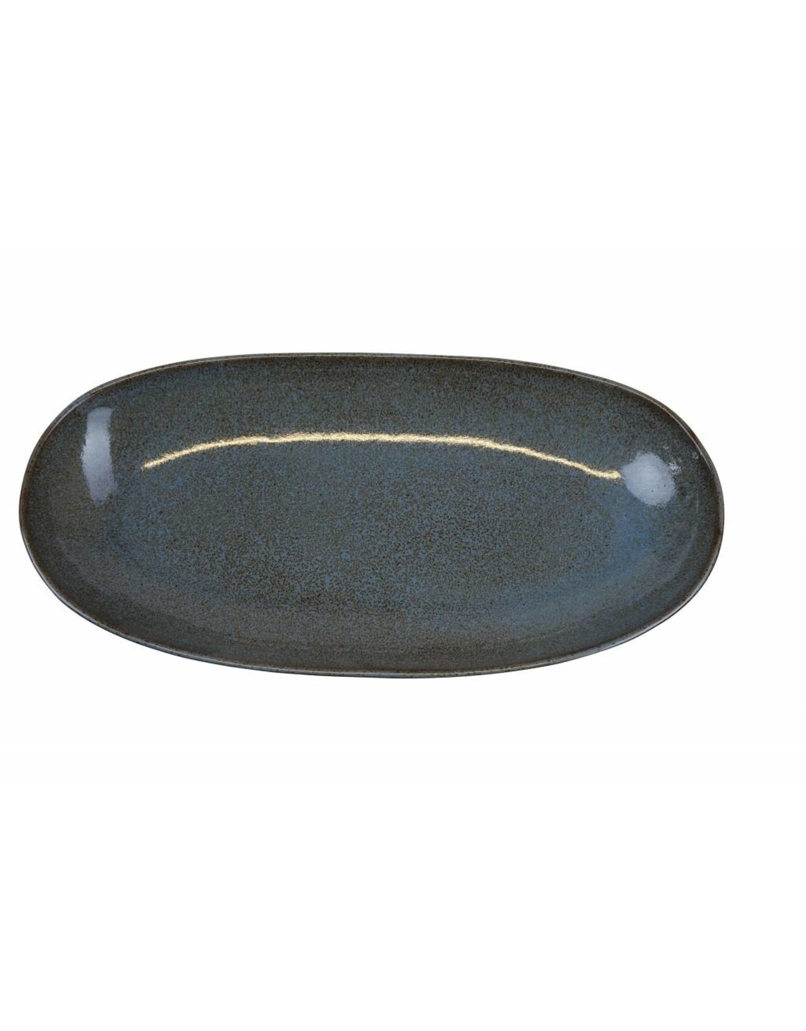 Kitchen Trend Schaal Stone ovaal medium petrol