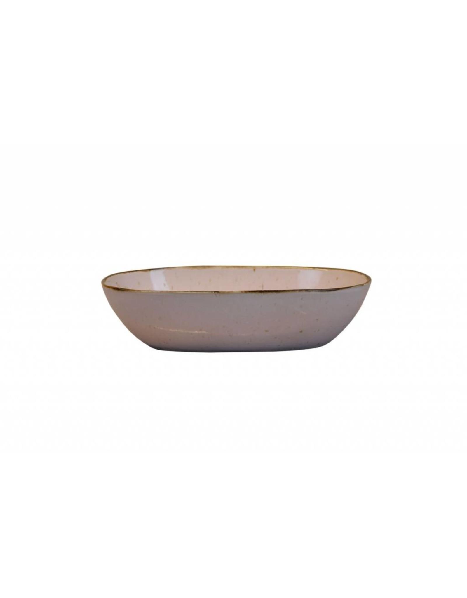 Kitchen Trend Schaal Stone ovaal diep medium lichtroze