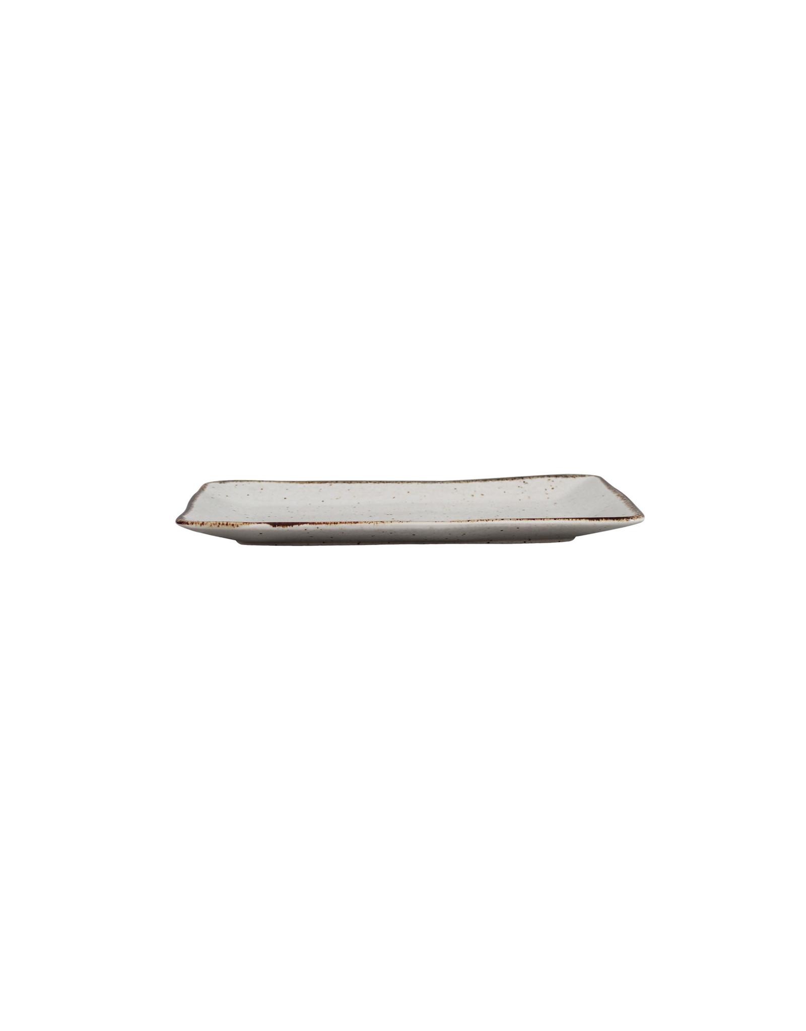 Kitchen Trend Schaal Stone rechthoek medium creme