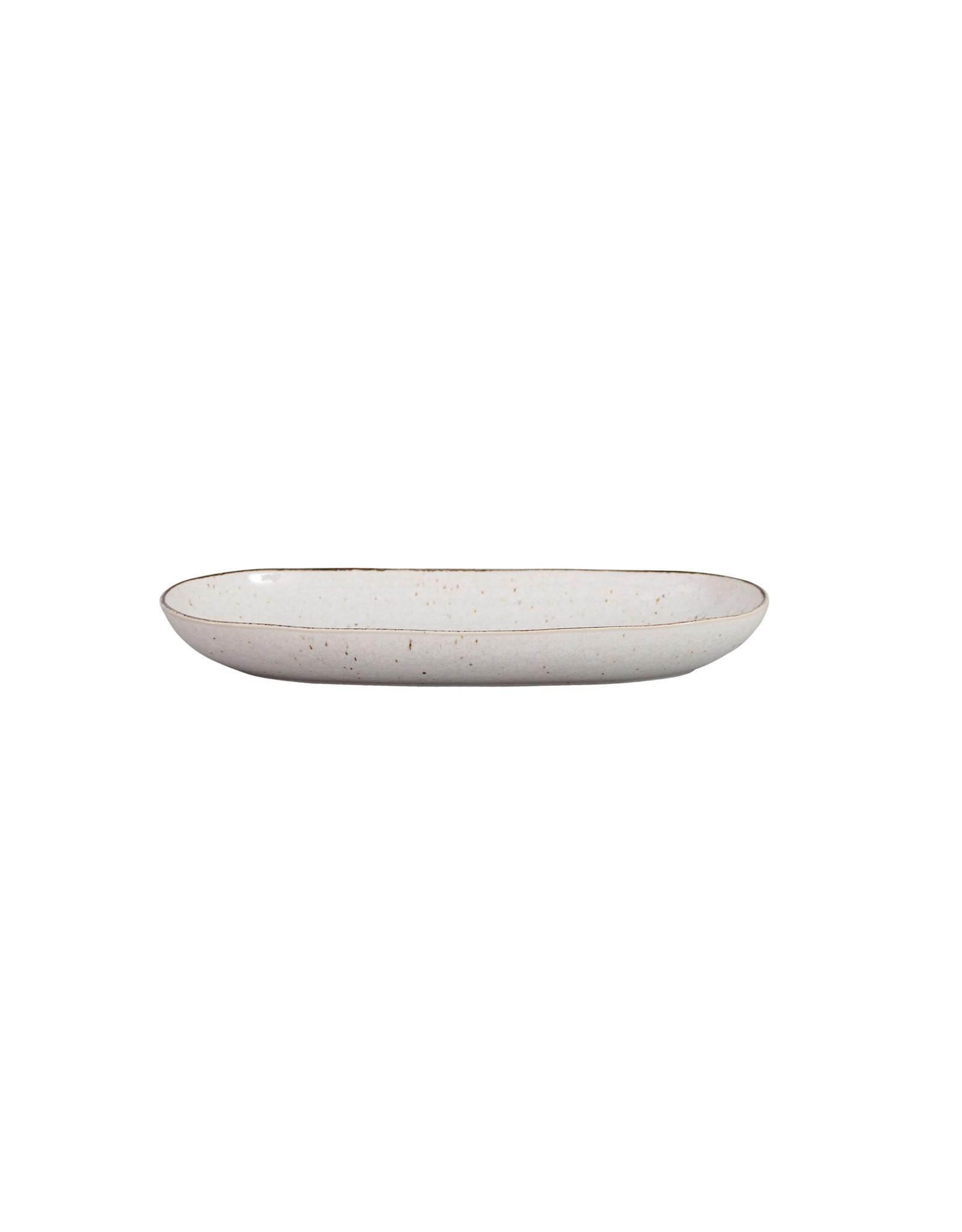 Kitchen Trend Schaal Stone ovaal medium creme